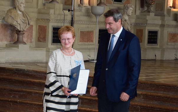 Ministerpräsident Dr. Markus Söder und Frau Eitel