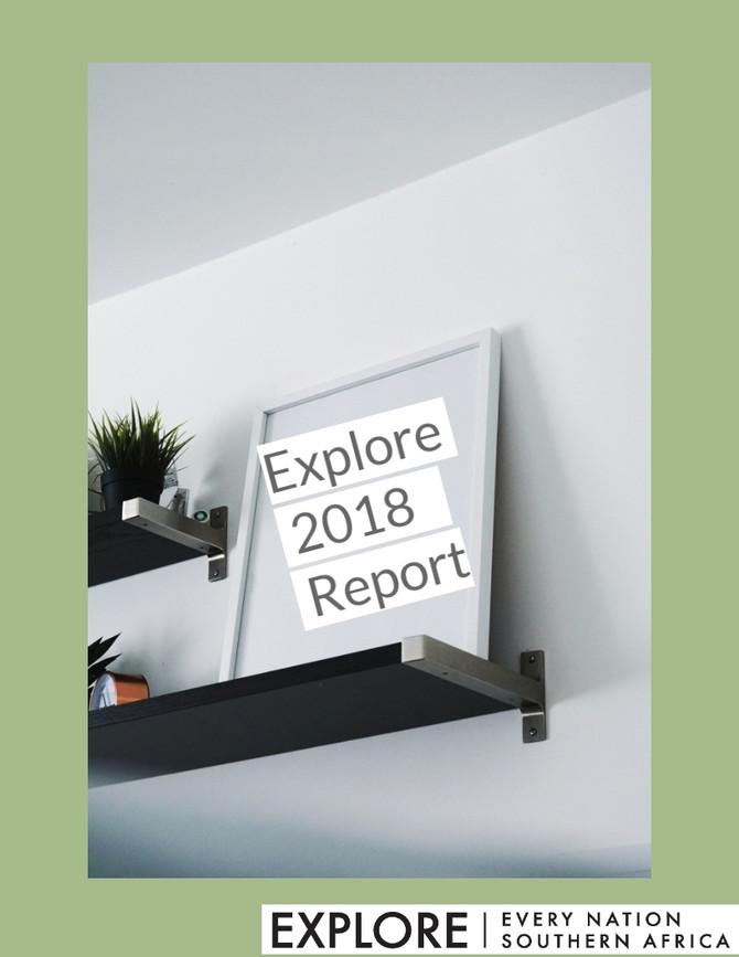 Explore 2018 Report
