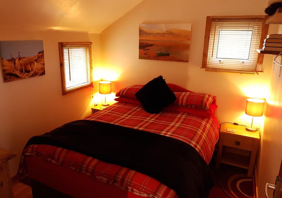 Creagach Chalet double room