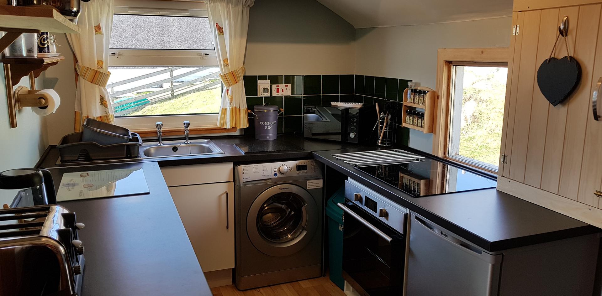 Creagach Chalet kitchen