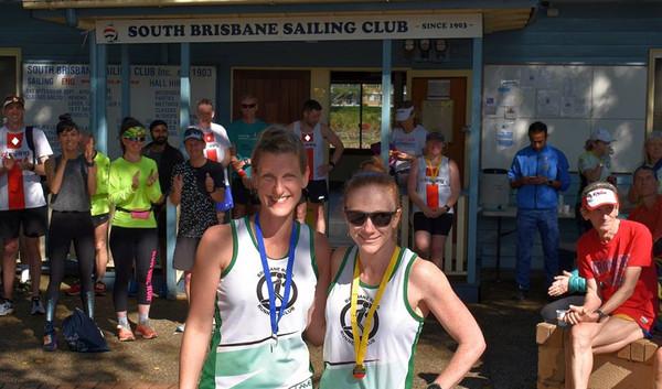 Front of South brisbane Sailing Club Hal