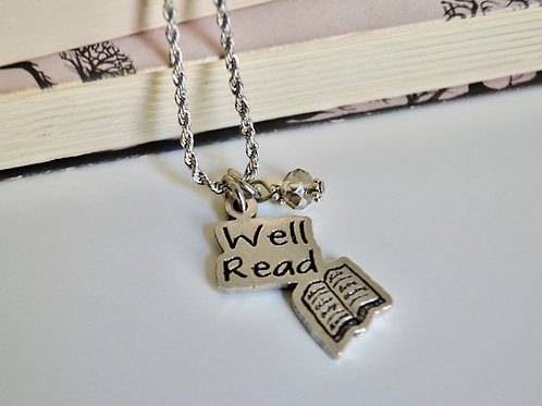 Well Read Necklace