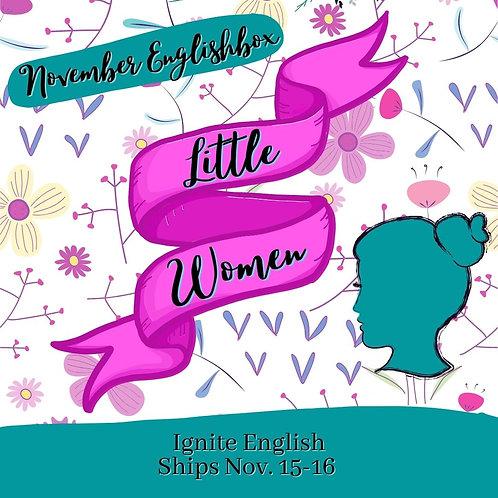 November Little Women Englishbox
