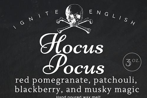 Hocus Pocus wax melt clammie