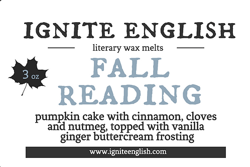 Fall Reading clammie