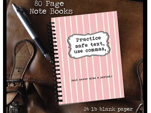 Practice Safe Text Notebook