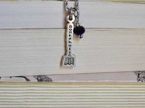Bookaholic Necklace