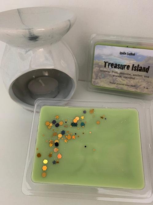 Treasure Island wax melt