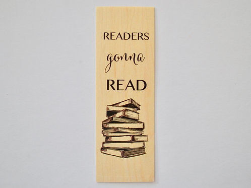 Reader gonna read Woodmark