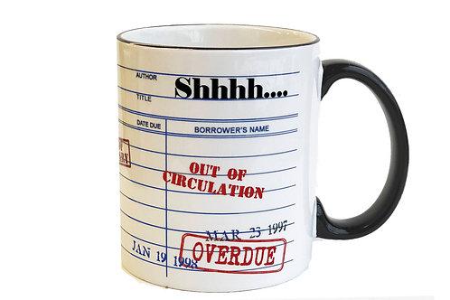 Shh...Librarian Mug