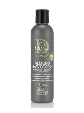 DE Almond & Avocado Moisturizing & Detangling Conditioner 80z