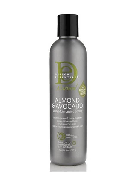 Design Essentials Almond & Avocado Daily Moisturizing Lotion