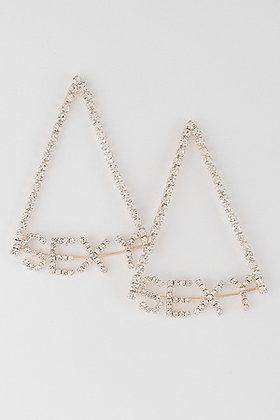 Sexy Rhinestone Earrings