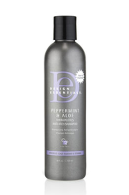 Design Essentials Peppermint & Aloe+ Anti-Itch Shampoo