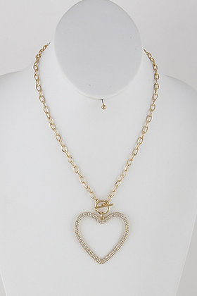 A beautiful Heart Necklace