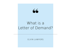 FAQ: Letters of Demand