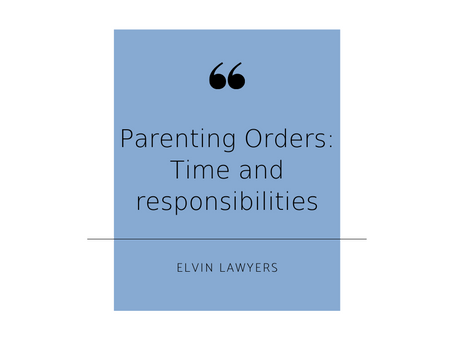 "The Parent Trap – ""Time spent"" & ""Responsibility"" Battles"