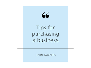 Tips for purchasing a business – Brunswick, Melbourne
