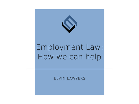 Employment Law – How We Can Help