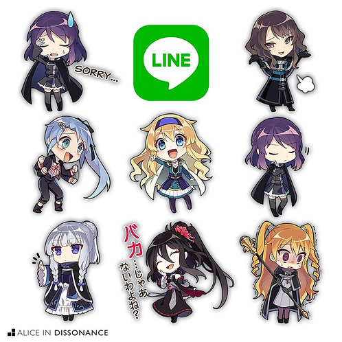fault LINE Stickers