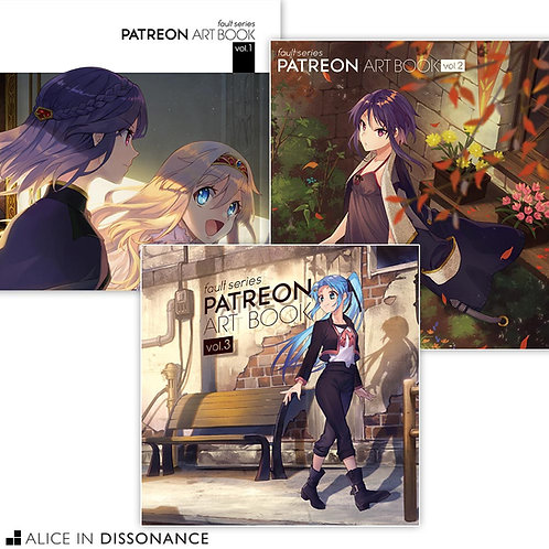 Patreon Art Book Bundle