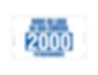 Número de peito econômico com tarja colorida