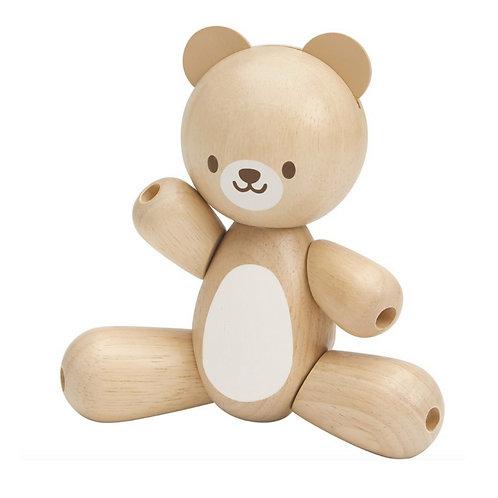 Urso de madeira