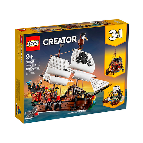 LEGO Creator 31109 Barco Pirata