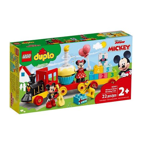 LEGO O Comboio de Aniversário do Mickey e da Minnie 10941
