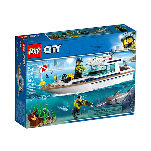 LEGO City Great Vehicles 60221 Iate de Mergulho