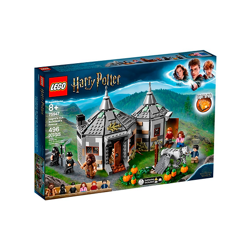 LEGO Harry Potter 75947 A Cabana de Hagrid: O Resgate de Buckbeak
