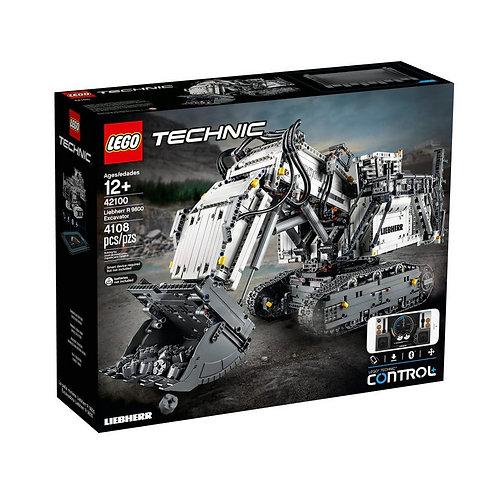 LEGO Technic 42100 Escavadora Liebherr R 9800