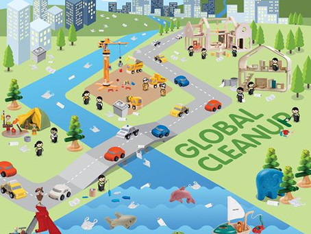 Grande limpeza Global