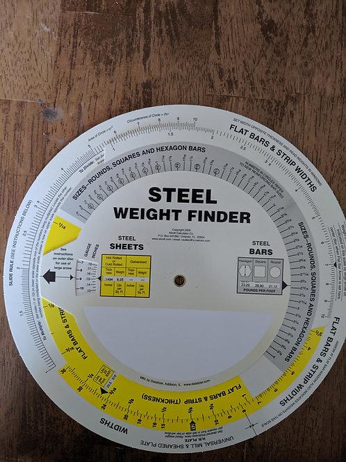Steel Weight Finder (side 2)
