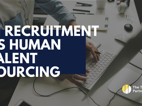 Automated AI recruitment process versus intuitive human talent sourcing