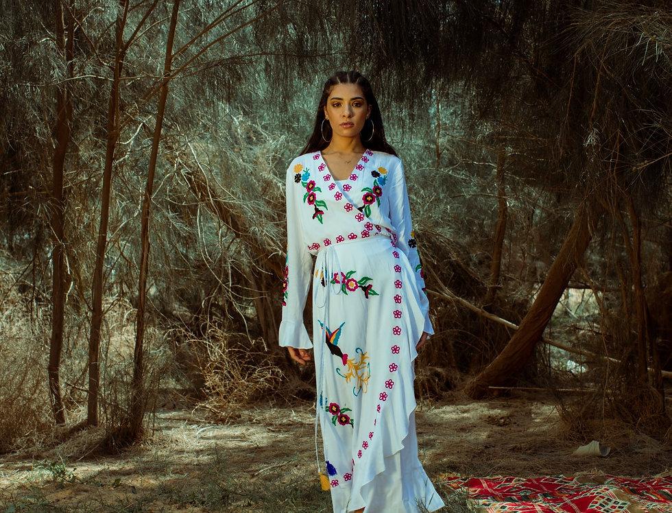 Ibiza white dress