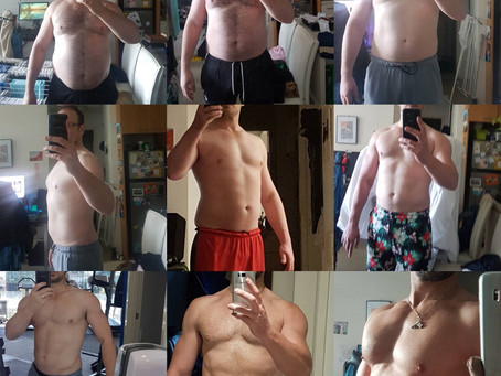 From Fat to Ripped: Amazing Body Transformation in 6 months.  What are the Keys for Success?