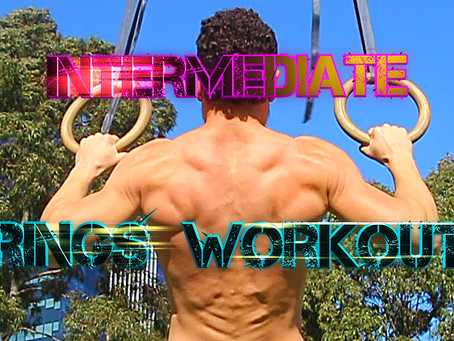 Intermediate level Rings Workout