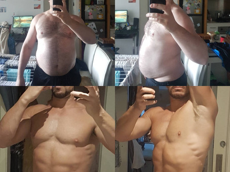 Getting Started and Leaving the Fat Behind. 6 month Body Transformation: Exercise, Diet and Sleep.