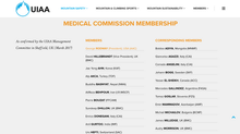 UIAA Medical Commission!
