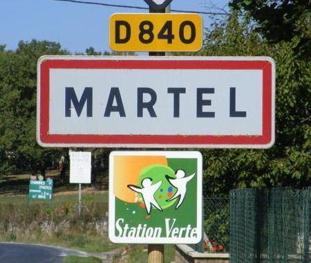 Panneau Martel