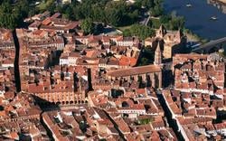 Montauban vue de haut