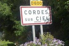 Panneau Cordes-sur-ciel