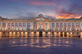 Toulouse-Le coucher du soleil