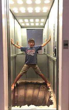 Ascenseur unique en France au Moulin d'A