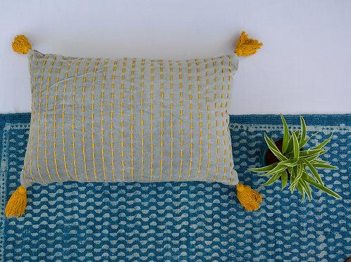 Mishka Lumbar Velvet Cushion