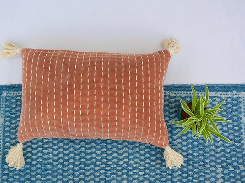 Nadia Lumbar Velvet Cushion w Filler