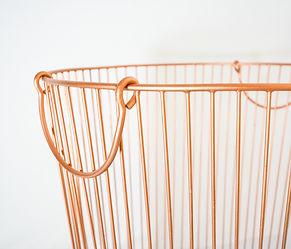 Metal Basket Copper