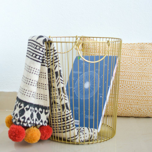 Camilla Basket - Gold
