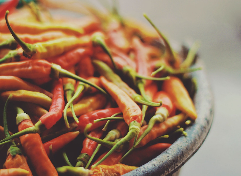 Spicy food and urinary incontinence